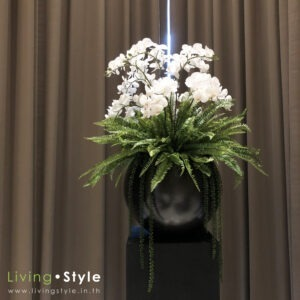 PPXL0002 / Ornamental Orchids and ferns with fiber cement base