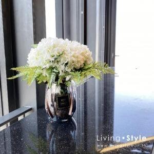 VFM0033 / Hydrangea with Ferns in Vase