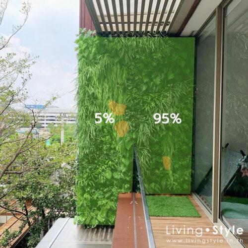 95%Plants area