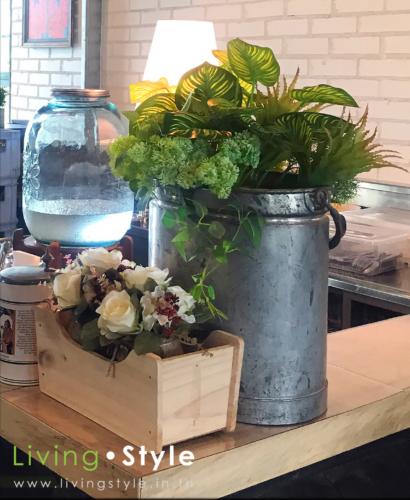 ดอกไม้ตกแต่งร้านอาหาร 10