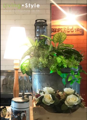 ดอกไม้ตกแต่งร้านอาหาร 9